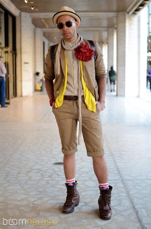 Стильный модный человек