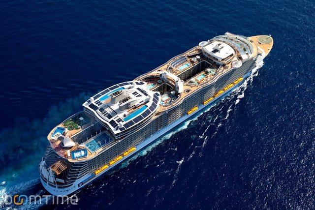 Покрытие самого большого круизного корабля сделано из нетоксичных, технологически продвинутых материалов